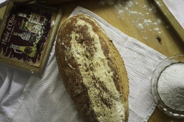 Kovászos Paraszt fehér kenyér 1kg/db