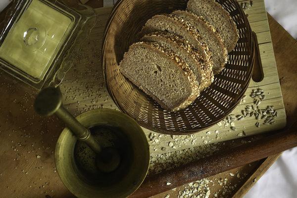 Teljes kiörlésű Magvas Rozsos Tönköly kenyér 0,5kg/db